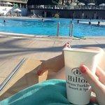 Pool at noon