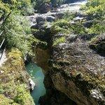 La roche façonnée par l'eau