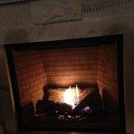 Plume - fireplace