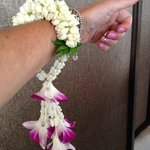 Beautiful fragrant bracelets made with all fresh flowers!