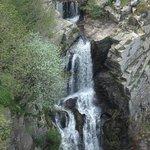 La Dame Blanche 90metre high waterfall