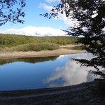 Lac du Laprade a quiet mountain lake
