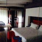camera meravigliosa della fashion suite