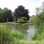 Enjoy the nearby riverside section of the Ridgeway Path