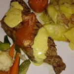 Steak with bearnaise and tomatosaus