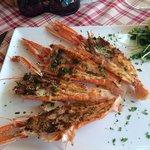 омары на гриле