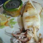 Calamaro alla piastra