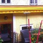 Salzburg - Afro Café - Terrace