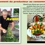Produits frais direct du producteur aux consommateurs.