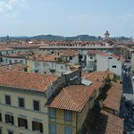 Florence, the old city area, from the top