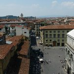 View from the top over the Piazza