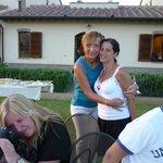 Foto con la Splendida signora Loredana