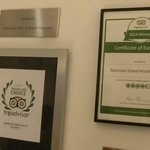 Tripadovisor 2014 Winner