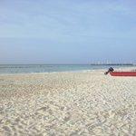 una bella playa