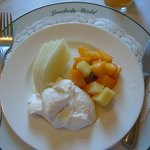 Melon & Fresh Greek Yoghurt