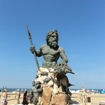 King Neptune on the Boardwalk