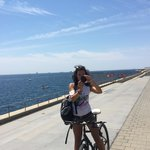 Your tour guide with Born Bikes - Simona