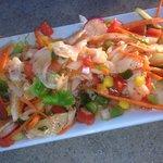 Peruvian conch salad
