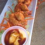 Shrimp tempura ...yum!