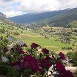 Dal balcone sino alle Dolomiti