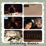 Birthday dinner at Capital Grille