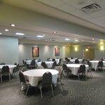 Back half of banquet room