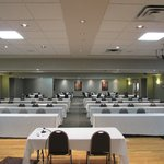 Banquet room from the front