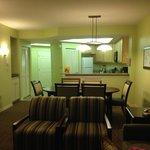 1 bedroom living space