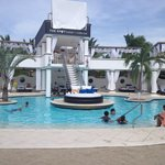 VIP Pool - The party Spot at night!