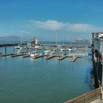 View from Outside Bar to Alcatraz and Sea Lion area