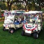 July 4th golf carts
