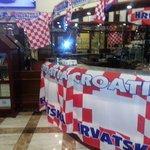 Det var Kroatiens nationaldag när vi bodde på hotellet.
