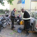 netter Service, auch für Biker