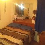 bedroom still unused