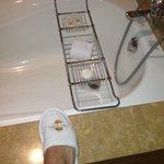 Dettaglio bagno in suite