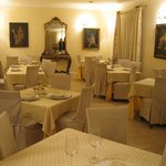 Restaurant at the Hotel Akropolis
