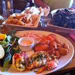 Fish Platter - Delicious