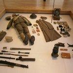uniforme et matériel de soldat français
