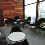 The luxury lounge