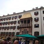 Innsbruck Golden canopy.