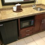 Kitchenette in Double Bed Suite