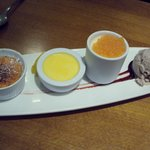 trio of puds