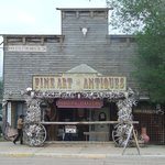 Classic shop of the old west
