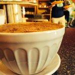 Bol de café au lait, double shot. Hummmmm!