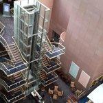 Vista desde los ascensores