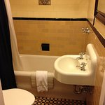 Tiled 1950's style bathroom