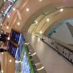 Atrium of the mall
