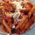 Spicy arrabiata pasta