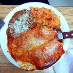 Chicken Burrito Plate