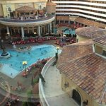 One of the 2 pools at Peppermill